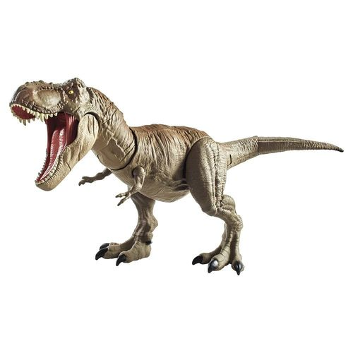 GCT91_Figura_Dinossauro_Morde_e_Ataca_Tiranossauro_Rex_Jurassic_World_Mattel_1