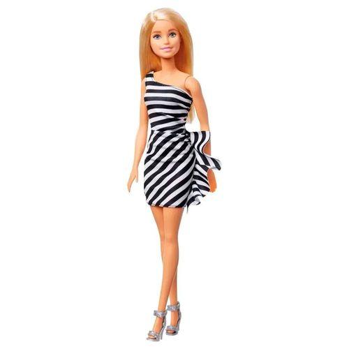 GJF85_Boneca_Barbie_Classica_60_anos_Loira_com_Vestido_Listrado_Mattel_1