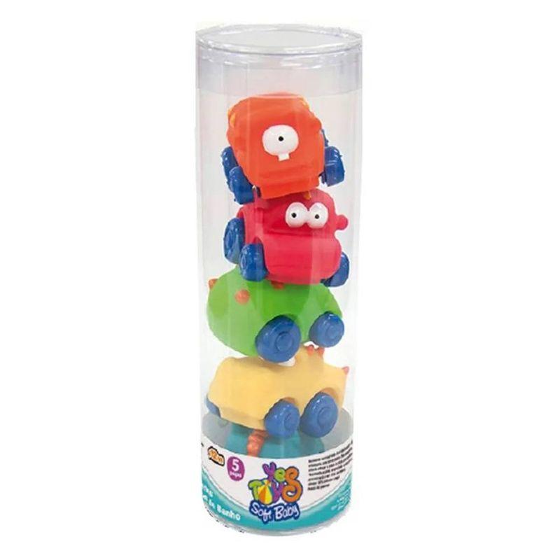 10010_Brinquedo_de_Banho_com_5_Pecas_Monstros_de_Banho_Soft_Baby_Yes_Toys_1