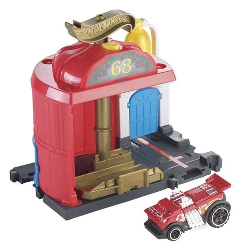 FMY95_Conjunto_Basico_com_Carrinho_Hot_Wheels_Manobra_no_Corpo_de_Bombeiros_Mattel_1