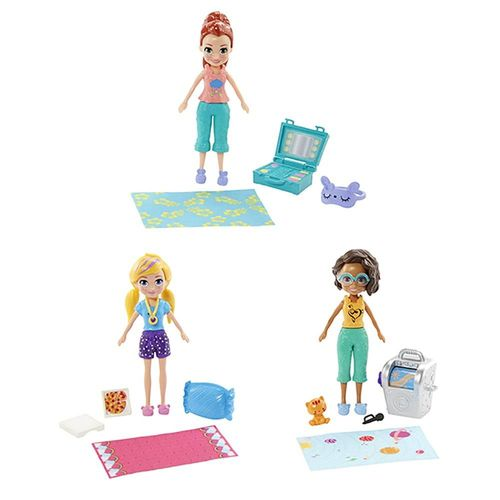GMF82_Polly_Pocket_Mini_Conjunto_com_3_Bonecas_Festa_do_Pijama_Mattel_2