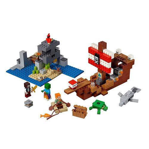 LEGO_Minecraft_A_Aventura_do_Barco_Pirata_21152_2