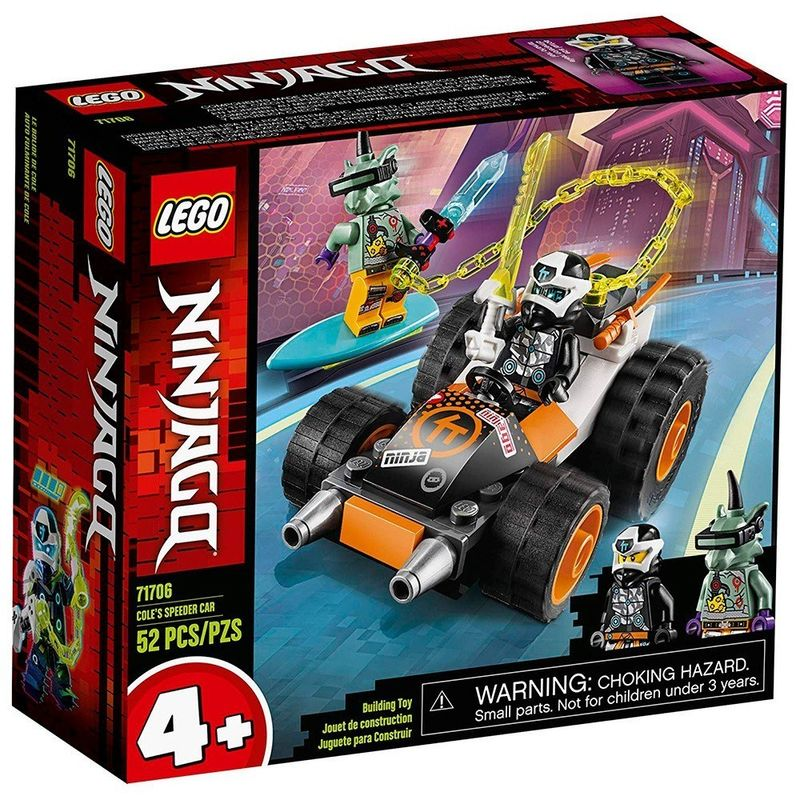 LEGO_Ninjago_O_Carro_de_Corrida_do_Cole_71706_1