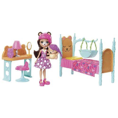 FRH44_FRH46_Boneca_Enchantimals_com_Amigo_Quarto_dos_Sonhos_Bren_Bear_e_Snore_Mattel_1
