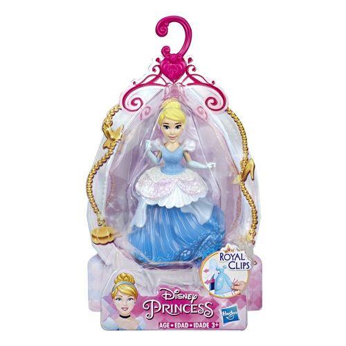 E4860_E3049_Mini_Boneca_Princesas_Disney_Cinderela_Royal_Clips_10_cm_Hasbro_1