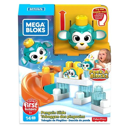 GKX66_Blocos_de_Montar_Mega_Bloks_Descida_do_Pinguim_Fisher-Price_1