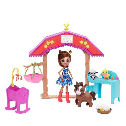 GJX23_Playset_e_Mini_Boneca_Enchantimals_Aventuras_na_Fazenda_Mattel_1