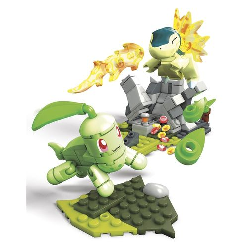 DYF09_FVK69_Blocos_Mega_Construx_Pokemon_Batalha_Chikorita_vs_Cyndaquil_120_Pecas_Mattel_6