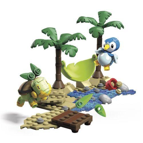DYF09_GCN13_Blocos_Mega_Construx_Pokemon_Batalha_Piplup_vs_Turtwig_120_Pecas_Mattel_2