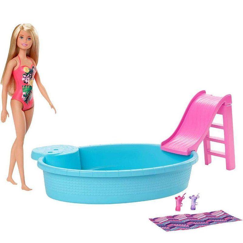 GHL91_Boneca_Barbie_Piscina_da_Barbie_com_Boneca_Mattel_1