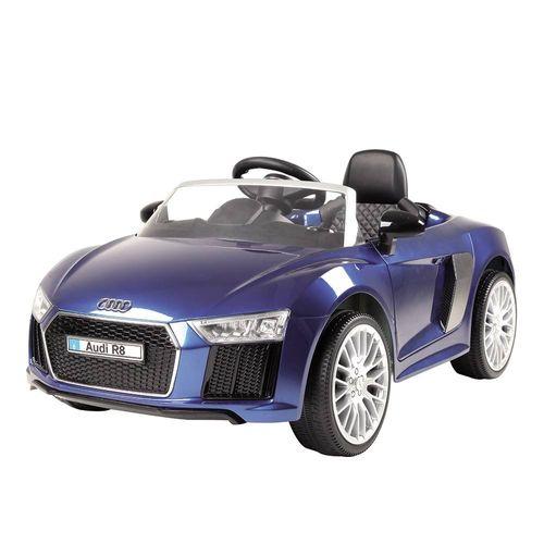 1091-0_Mini_Veiculo_Eletrico_com_Controle_Remoto_Audi_R8_Spyder_6V_Azul_Xalingo_1