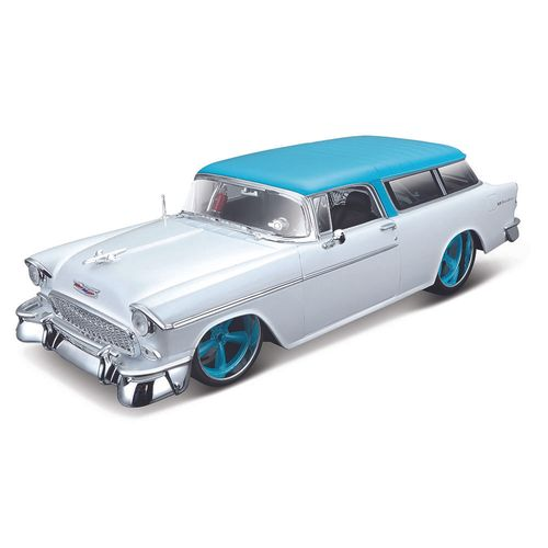 32610_Miniatura_Colecionavel_1955_Chevrolet_Nomad_1-18_Branco_Maisto
