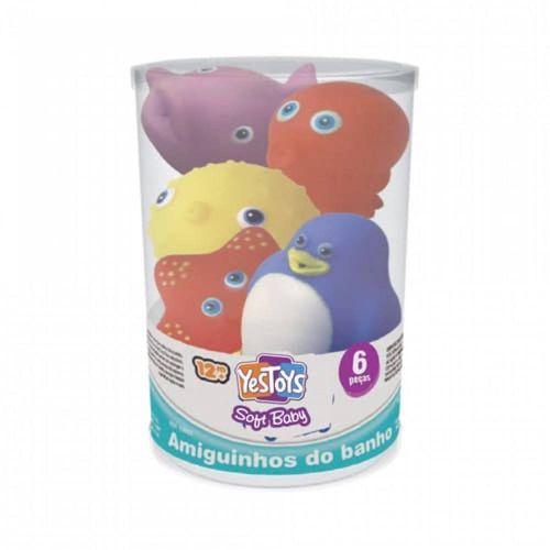 10015_Brinquedo_de_Banho_Amiguinhos_do_Banho_8_Pecas_Sortidas_Soft_Baby_Yes_Toys_1