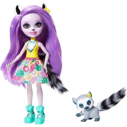 FNH22_Boneca_com_Pet_Enchantimals_Larissa_Lemur_e_Ringlet_Mattel_1