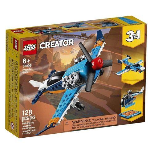 LEGO_Creator_Aviao_de_Helice_31099_1