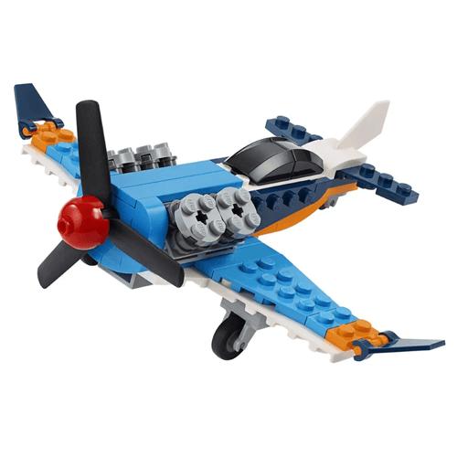 LEGO_Creator_Aviao_de_Helice_31099_2