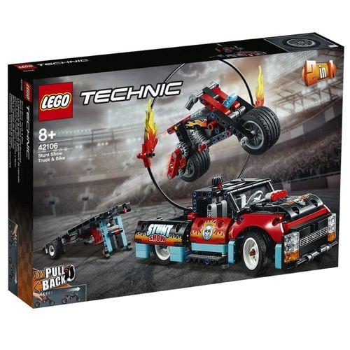 LEGO_Technic_Motocicleta_e_Caminhao_de_Acrobacias_42106_1