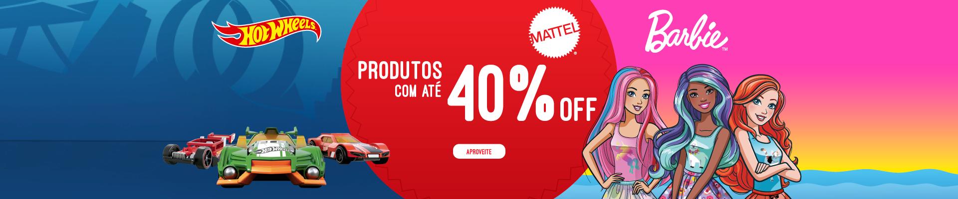 MATTEL 40%