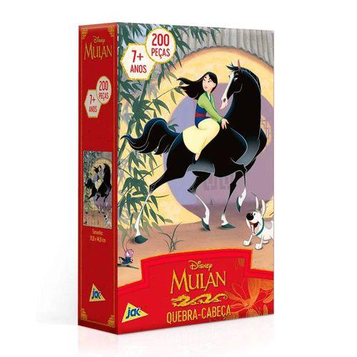 2681_Quebra-Cabeca_Mulan_Disney_200_Pecas_Toyster_1