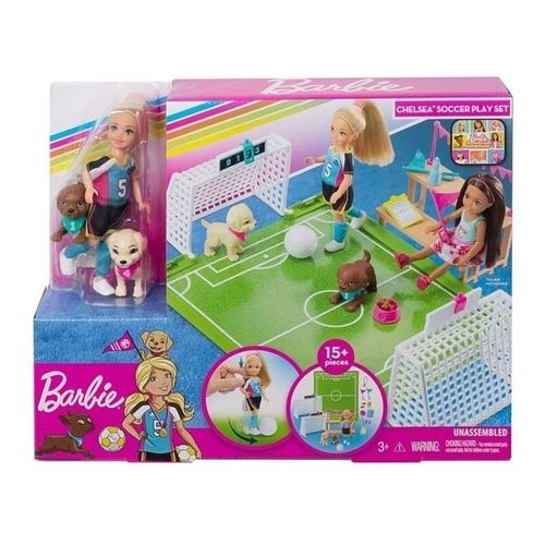 GHK37_Boneca_Barbie_e_Playset_Futebol_com_Cachorrinhos_Barbie_Dreamhouse_Adventures_Mattel_1