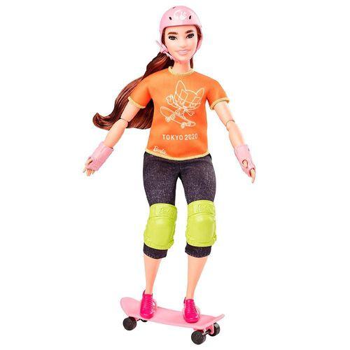 GJL73_GJL78_Boneca_Barbie_Barbie_Profissoes_Esportista_Olimpica_Tokyo_2020_Skatista_Mattel_1