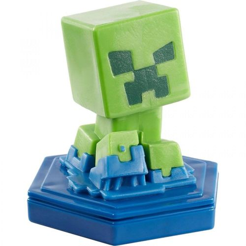 GKT32_GKT38_Mini_Figura_Basica_Minecraft_Earth_Creeper_Desacelerado_Mattel_2