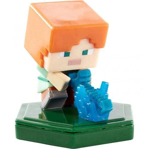 GKT32_GKT37_Mini_Figura_Basica_Minecraft_Earth_Alex_ao_Ataque_Mattel_2