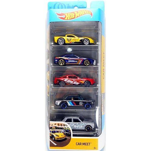 1806_Carrinhos_Hot_Wheels_Pacote_com_5_Carros_Car_Meet_Mattel