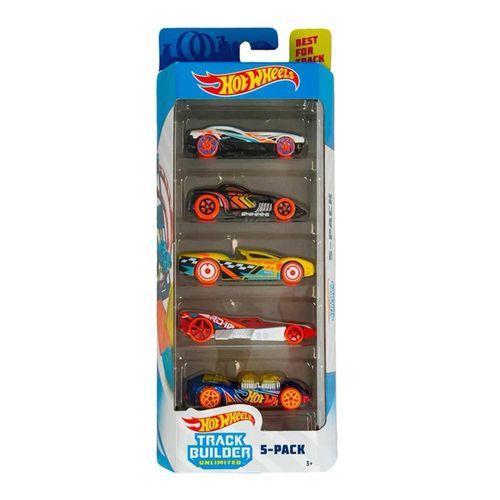 1806_Carrinhos_Hot_Wheels_Pacote_com_5_Carros_Track_Builder_Unlimited_Mattel