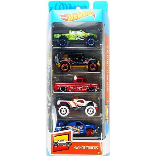 1806_Carrinhos_Hot_Wheels_Pacote_com_5_Carros_HW_Hot_Trucks_Mattel_1