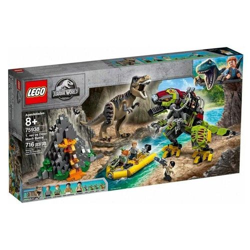 LEGO_Jurassic_World_T_Rex_vs_Robo_Dinossauro_75938_1