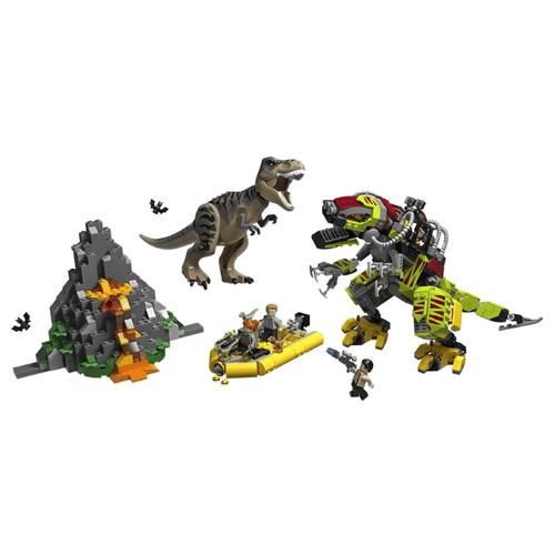 LEGO_Jurassic_World_T_Rex_vs_Robo_Dinossauro_75938_2