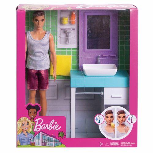 FYK51_FYK53_Bonecas_Barbie_Ken_com_Moveis_do_Banheiro_Mattel_2