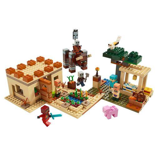 LEGO_Minecraft_O_Ataque_de_Illager_21160_2