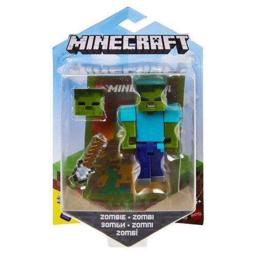 GRD74_GRD81_Mini_Figura_Articulada_Minecraft_8_cm_Zombie_Mattel_1