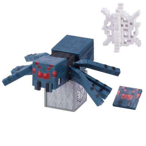 GRD74_GRD83_Mini_Figura_Articulada_Minecraft_8_cm_Aranha_da_Caverna_Mattel_1