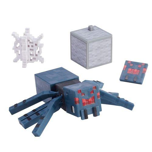 GRD74_GRD83_Mini_Figura_Articulada_Minecraft_8_cm_Aranha_da_Caverna_Mattel_4