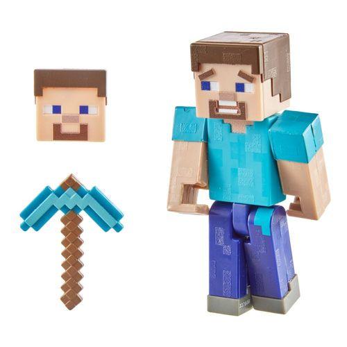 GRD74_GTJ26_Mini_Figura_Articulada_Minecraft_8_cm_Steve_Mattel_2