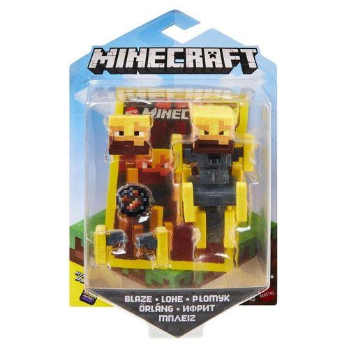 GRD74_GRD82_Mini_Figura_Articulada_Minecraft_8_cm_Blaze_Mattel_1