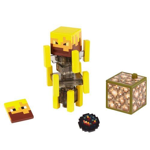 GRD74_GRD82_Mini_Figura_Articulada_Minecraft_8_cm_Blaze_Mattel_2