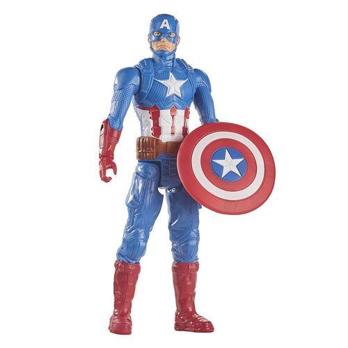 E7877_FiguraArticulada_CapitaoAmerica_TitanHero_Vigadores_Marvel_Hasbro_1