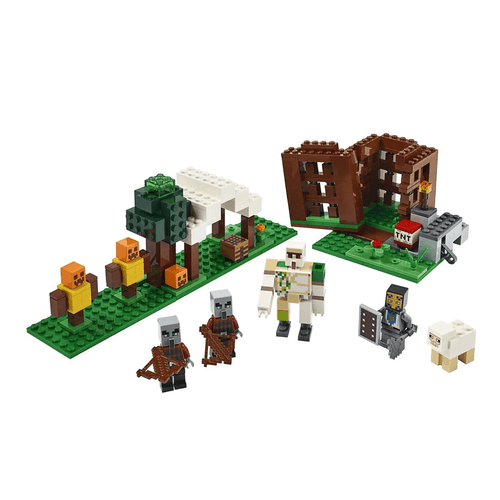 LEGO_Minecraft_The_Pillager_Outpost_21159_2