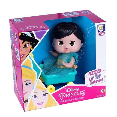 2461_Mini_Boneca_Princesas_Jasmine_no_Carrinho_Disney_18_cm_Cotiplas_2
