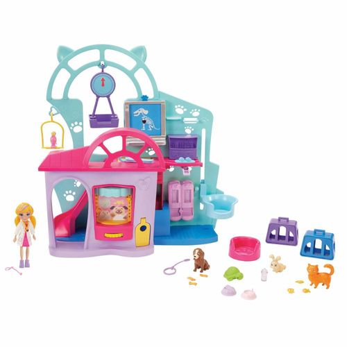 GKL47_Playset_Polly_Pocket_Clinica_Veterinaria_Mattel_1