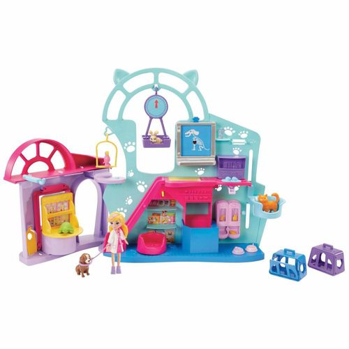 GKL47_Playset_Polly_Pocket_Clinica_Veterinaria_Mattel_2