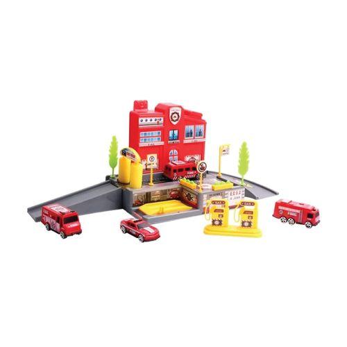 126364_Playset_com_Carrinhos_Posto_de_Bombeiros_Yes_Toys_2