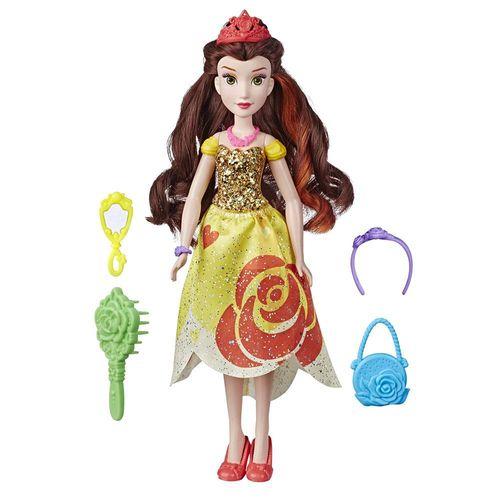 E3048_Boneca_Disney_Princesas_com_Acessorios_Bella_Be_Bold_Fashions_Hasbro_1