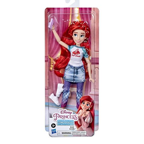 E9160_Boneca_com_Acessorios_Ariel_Comfy_Squad_Princesas_Disney_Hasbro_3