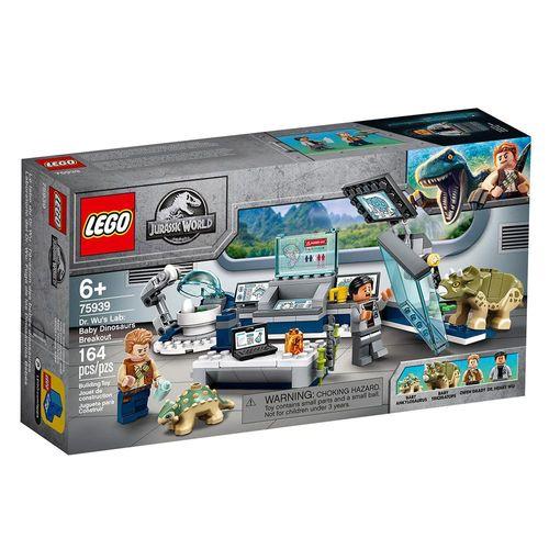 LEGO_Jurassic_World_Laboratorio_do_Dr_Wu_A_Fuga_dos_Dinossauros_Bebes_75939_1