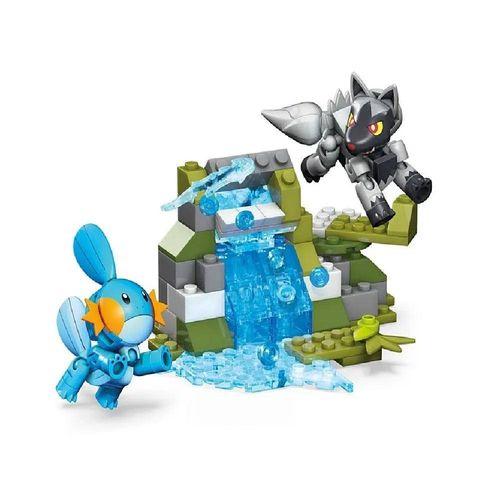 DYF09_Blocos_Mega_Construx_Pokemon_Batalha_Mudkip_Gobou_vs_Poochyena_Medhyena_126_Pecas_Mattel_1